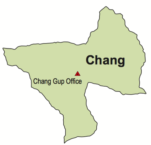Chang Gewog map