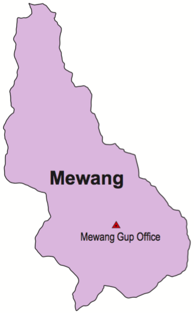 Mewang Gewog map